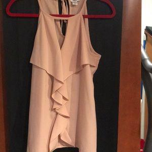 Pale pink blouse